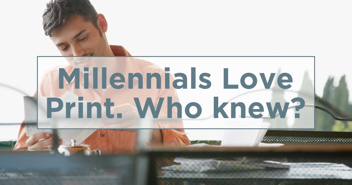 Millennials Love Direct Mail